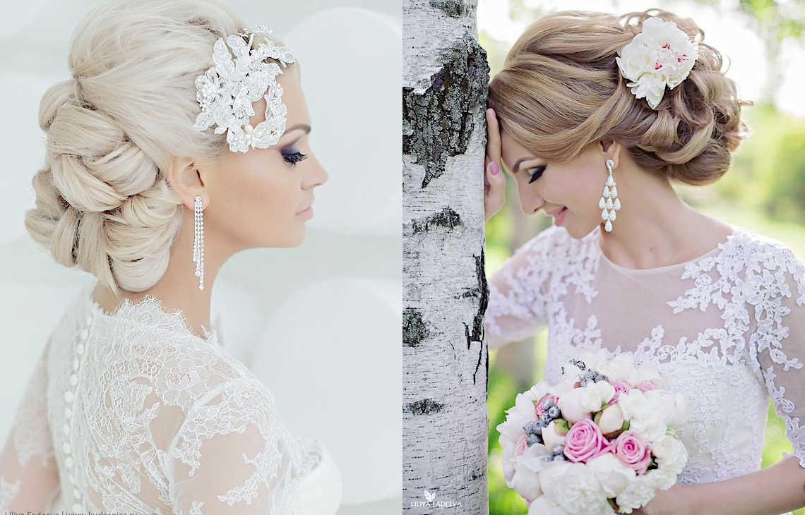 21 Updo Wedding Hairsyles with Glamour - MODwedding