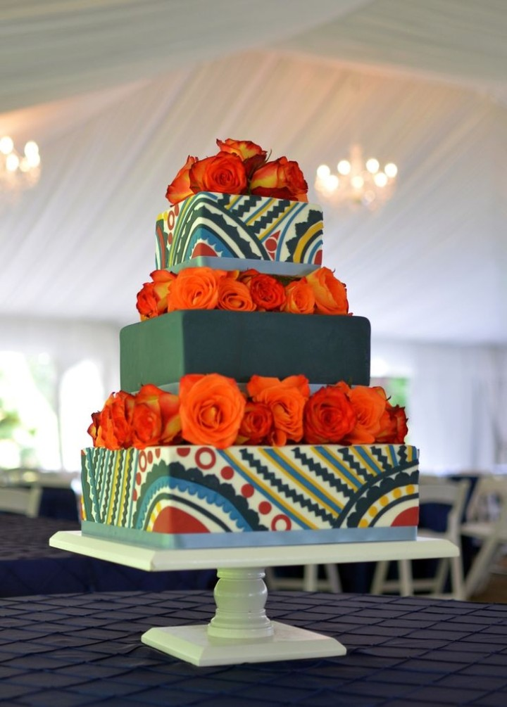 african themed wedding cake images wedding cakes modwedding 10603