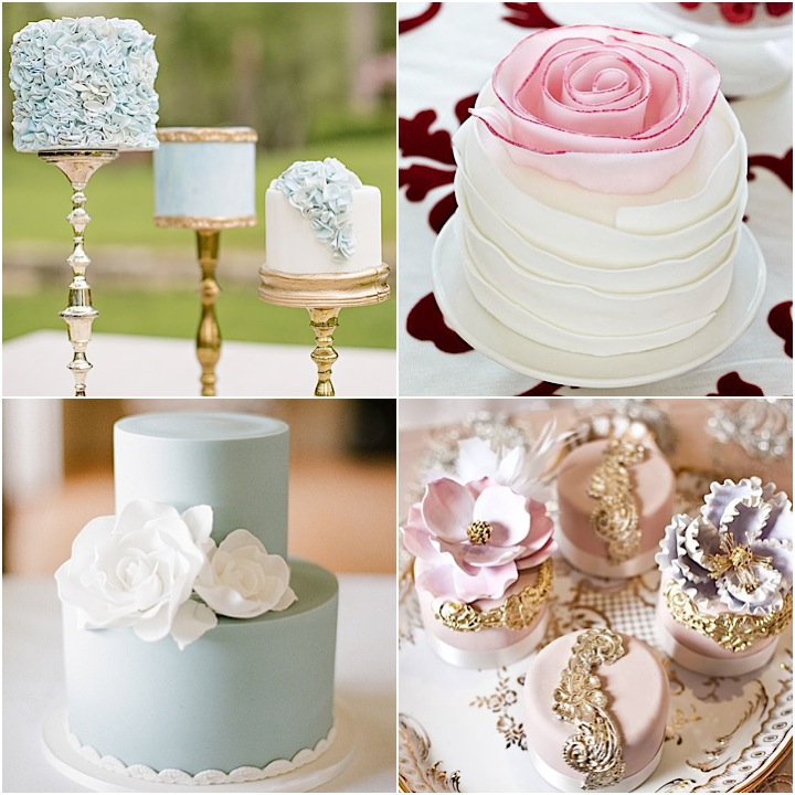 21 Cutest Mini Wedding Cakes Ever MODwedding