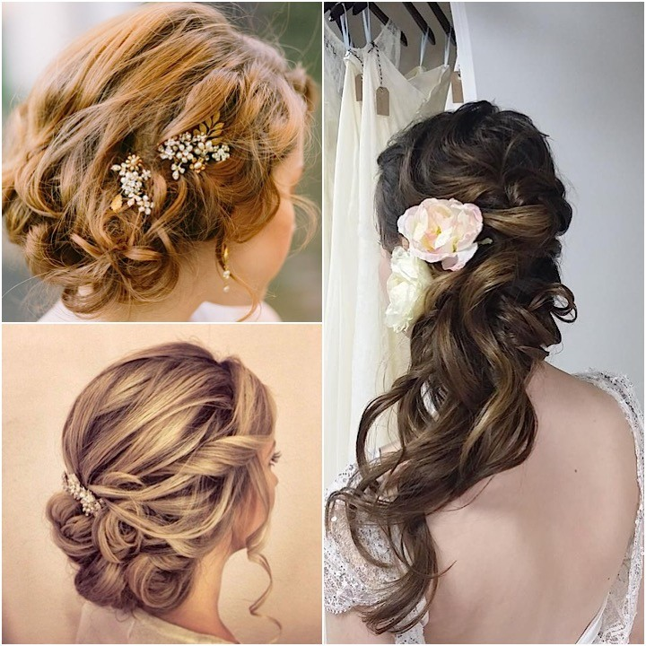 20 Lovely Wedding Guest Hairstyles: 20 Killer Swept-Back Wedding Hairstyles