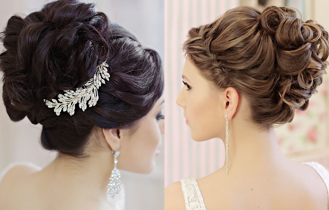 Incredible Elegant Updos And More Beautiful Wedding Hairstyles Modwedding Hairstyles For Women Draintrainus