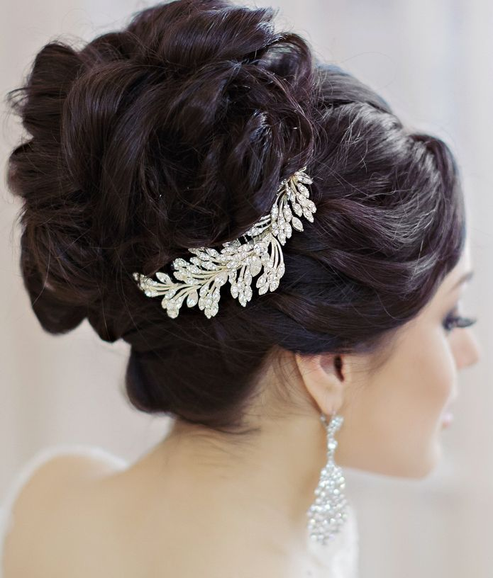 2015 Wedding Hairstyles: Elegant Updos And More Beautiful Wedding Hairstyles