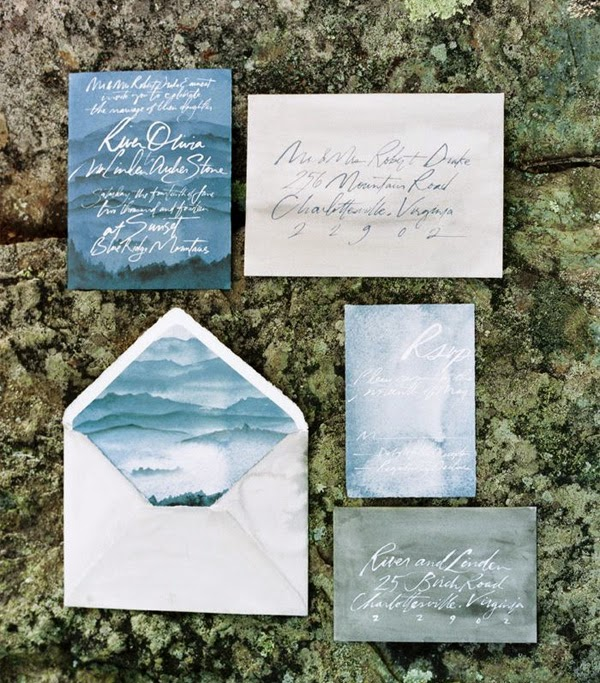 20 Watercolor Wedding Ideas For The Summer
