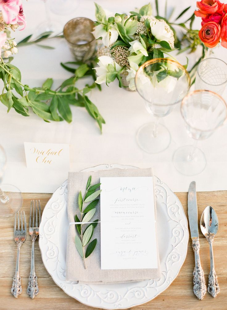 Wedding Ideas 19 Perfect Reception Tablescapes Modwedding