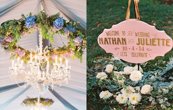 Wedding Ideas: Elegant Garden Inspired Details