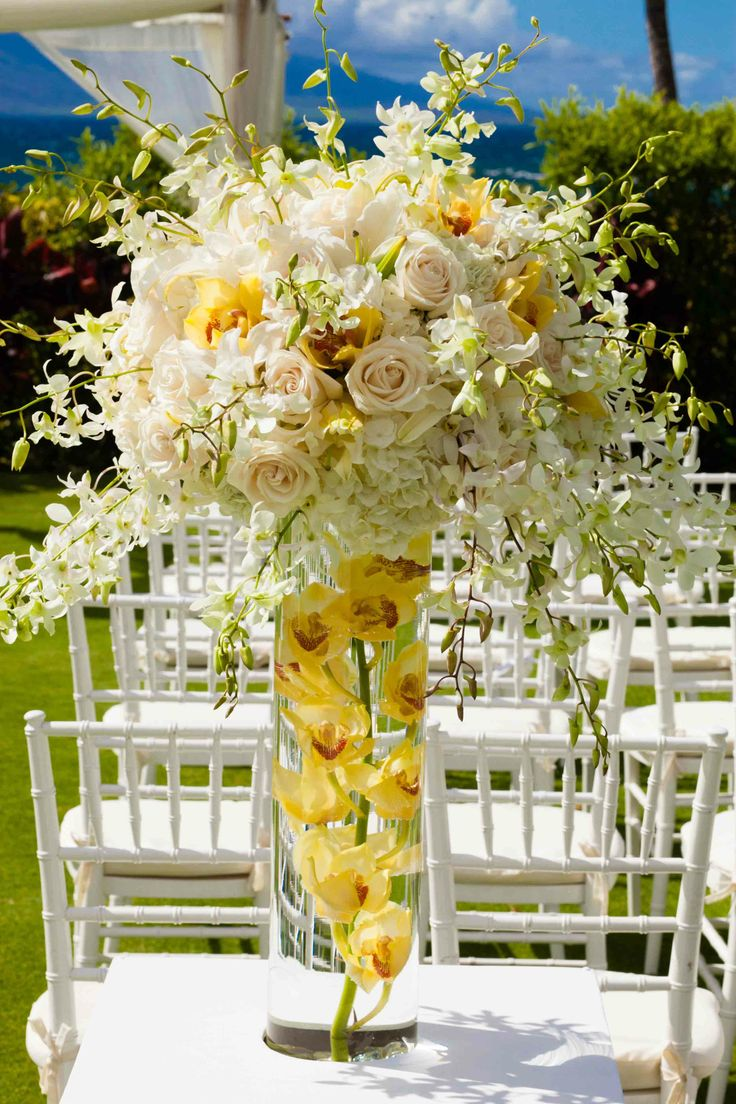 The loveliest pale yellow wedding ideas modwedding for Decorations for weddings at home
