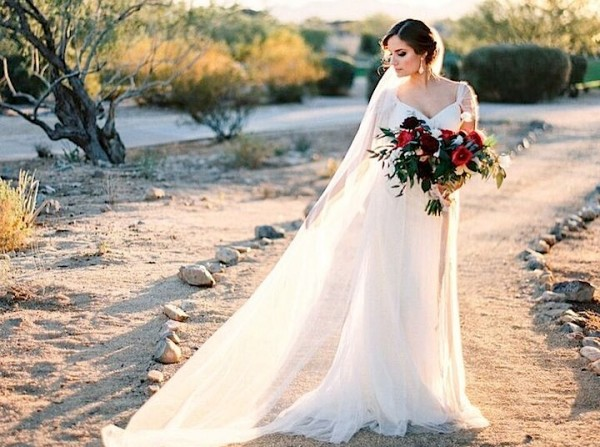 Arizona Wedding in Beautiful Shades of Blue