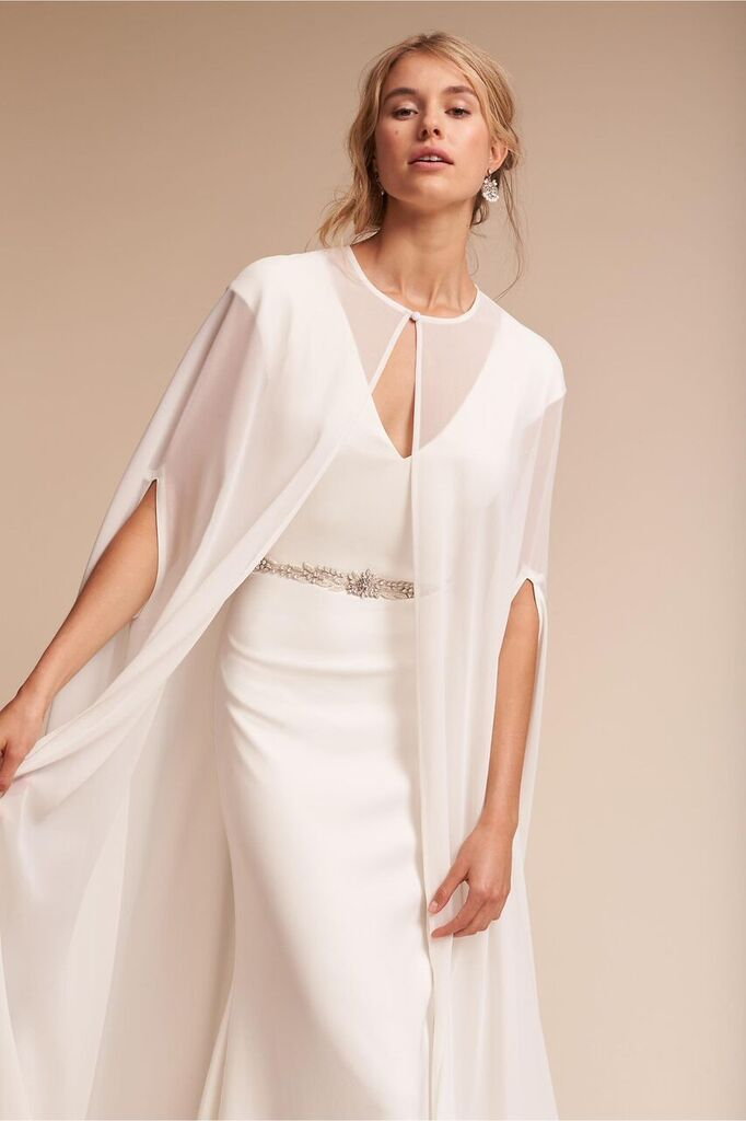 Keep it chic and simple in these classic bhldn wedding dresses for Simple classic wedding dress