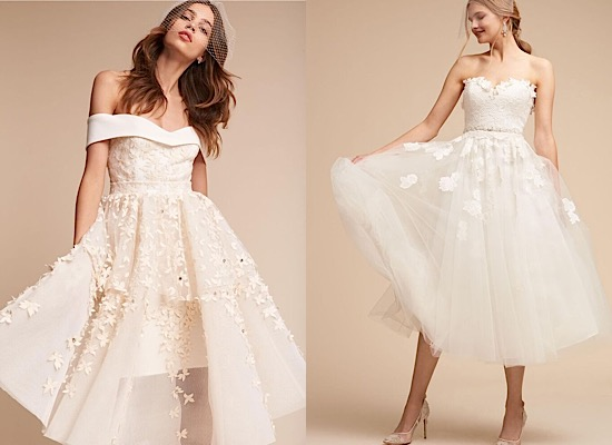 Chic And Simple Wedding Dresses By Cabotine: Keep It Chic And Simple In These Classic BHLDN Wedding Dresses