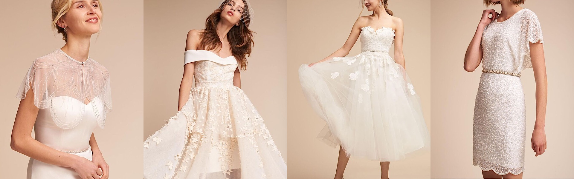 Keep it chic and simple in these classic bhldn wedding dresses for Wedding dresses like bhldn