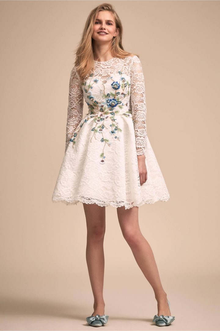 Trendy And Sophisticated Bhldn Reception Wedding Dresses