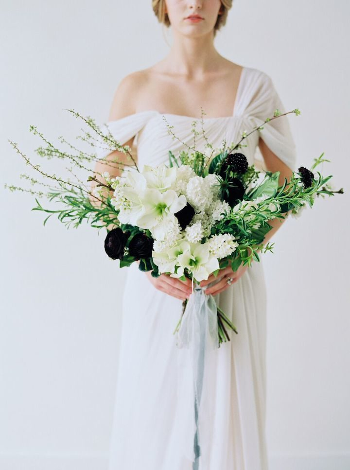 Ethereal and romantic california wedding inspiration for Romantic ethereal wedding dresses