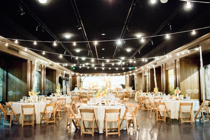 California Wedding at the History Museum - MODwedding
