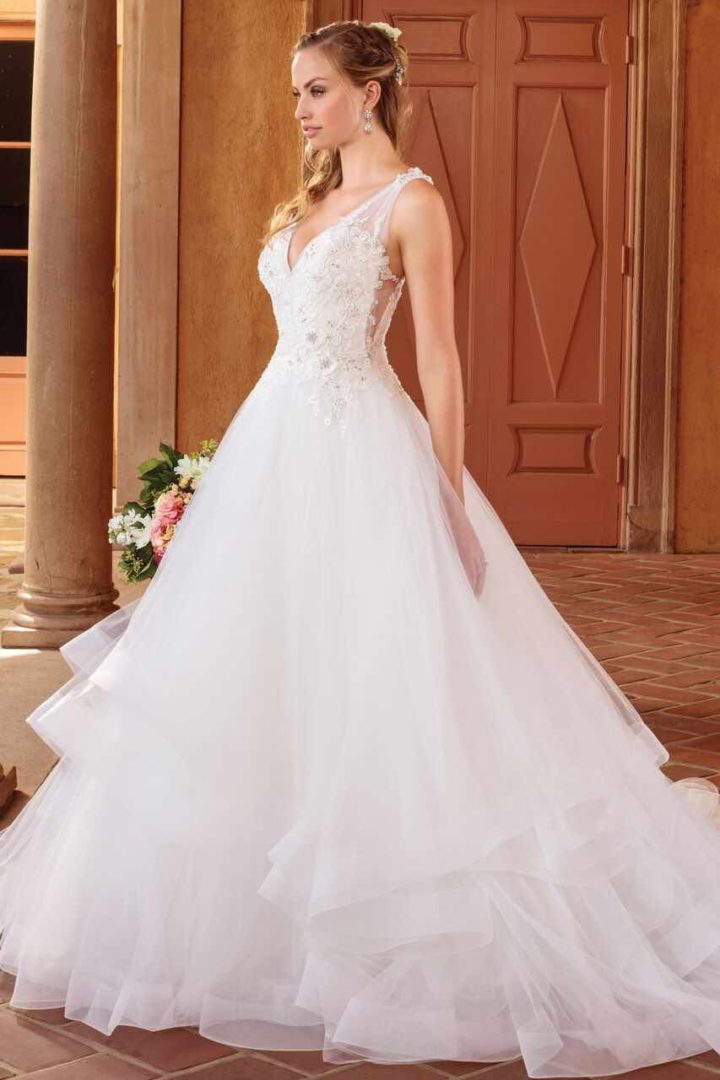 Casablanca Bridal Wedding Dresses with Sophisticated ... - photo #6