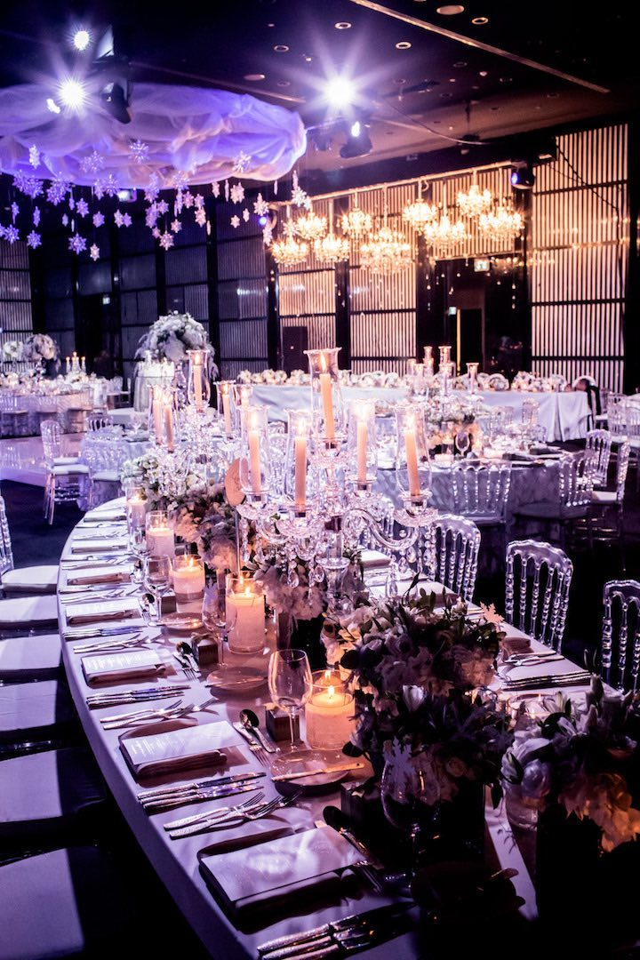Dubai Wedding In A Winter Wonderland Modwedding