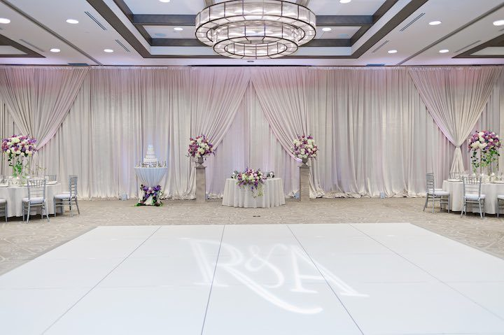 Elegant florida wedding in shades of purple modwedding for 720 salon celebration fl