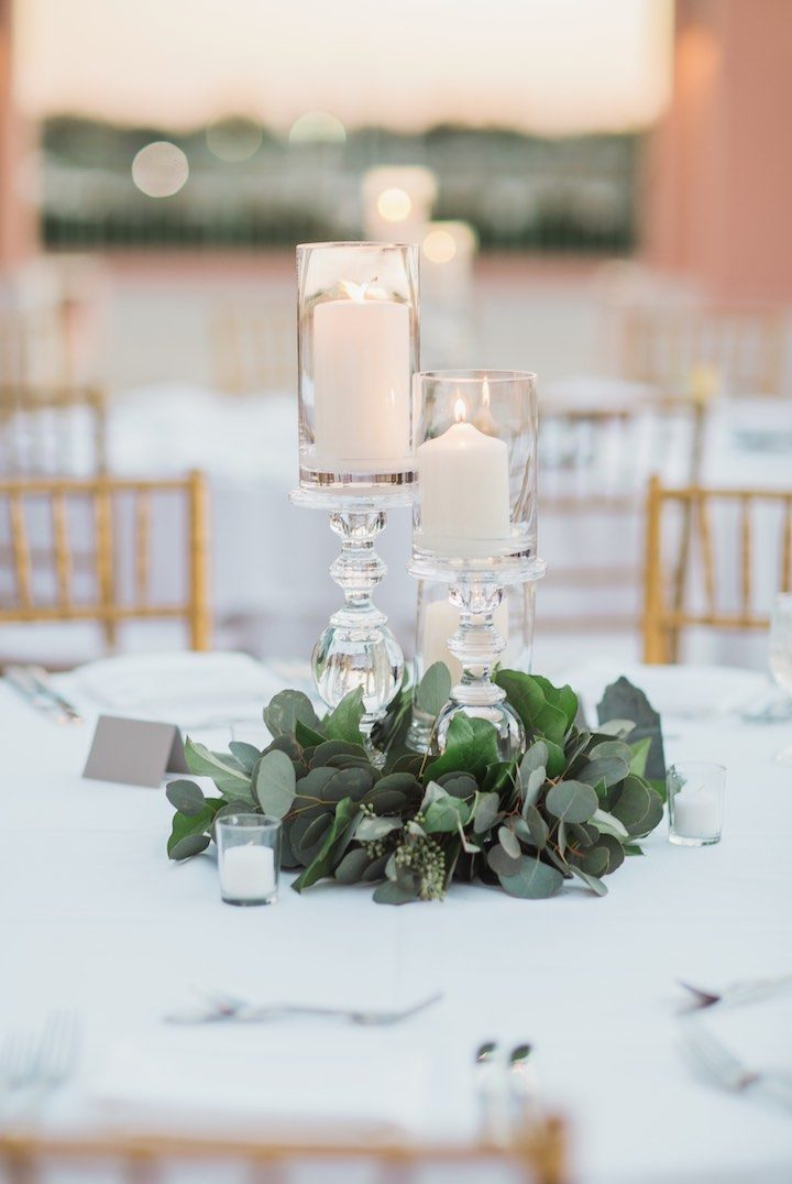 Chic Florida Wedding Sparkles With Rose Gold Details