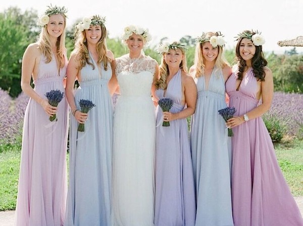 Lavender and Romance in Beautiful France Wedding