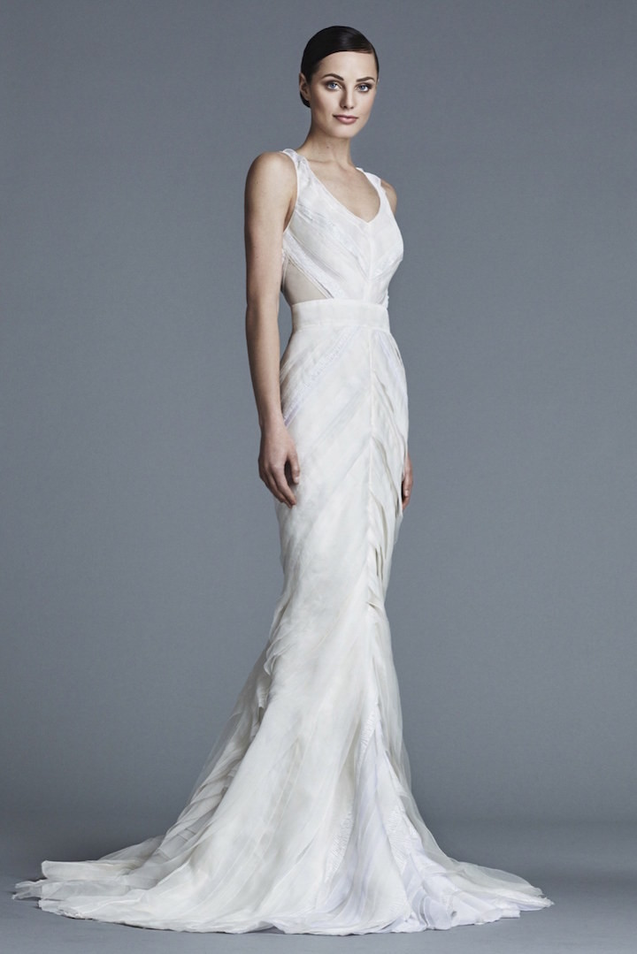 Modern wedding dresses bridal trend 2016 modwedding for J mendel wedding dress