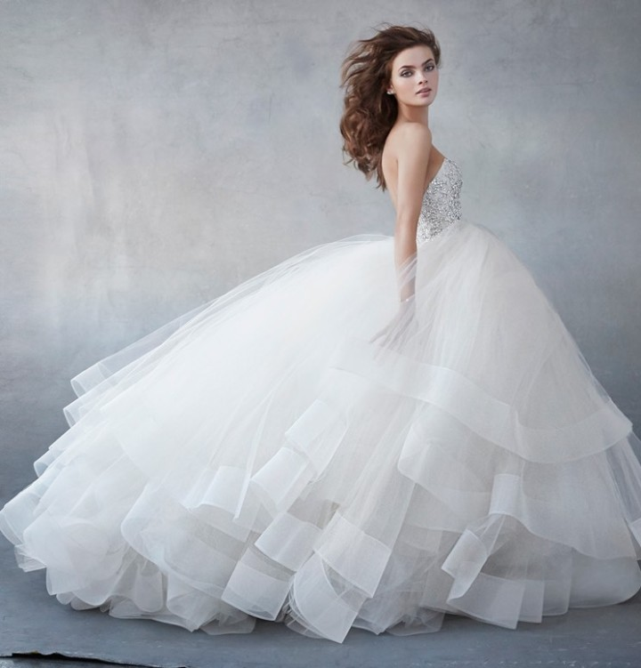 Dramatic Ball Gown Wedding Dresses: Lazaro Wedding Dresses 2016 Collection