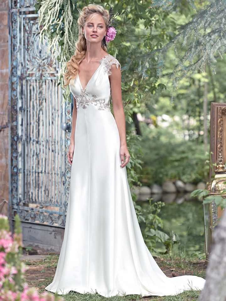Wedding Dresses with Romantic Details - MODwedding