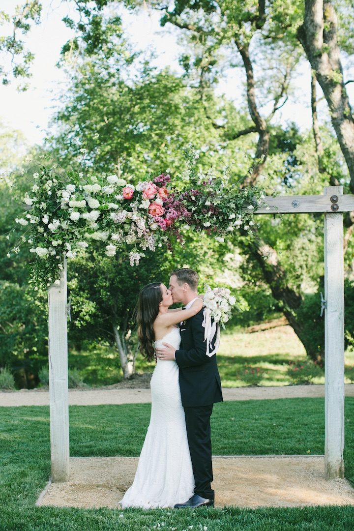 Napa Valley Wedding With Pops Of Pink Modwedding