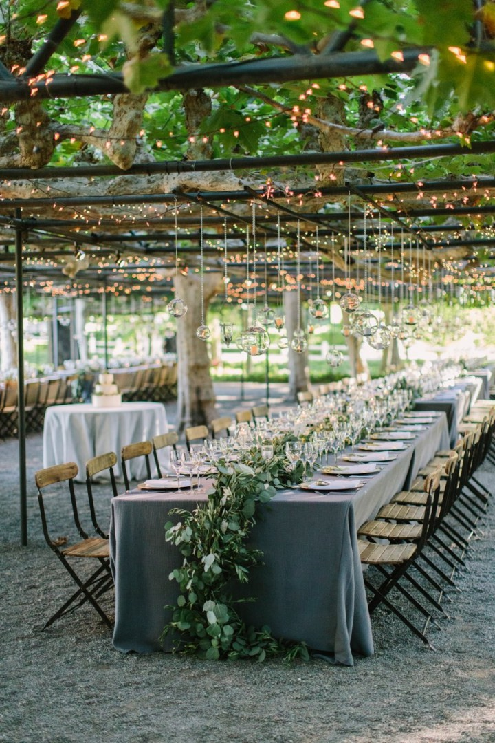 Stunning Napa Wedding Illuminates The Garden MODwedding