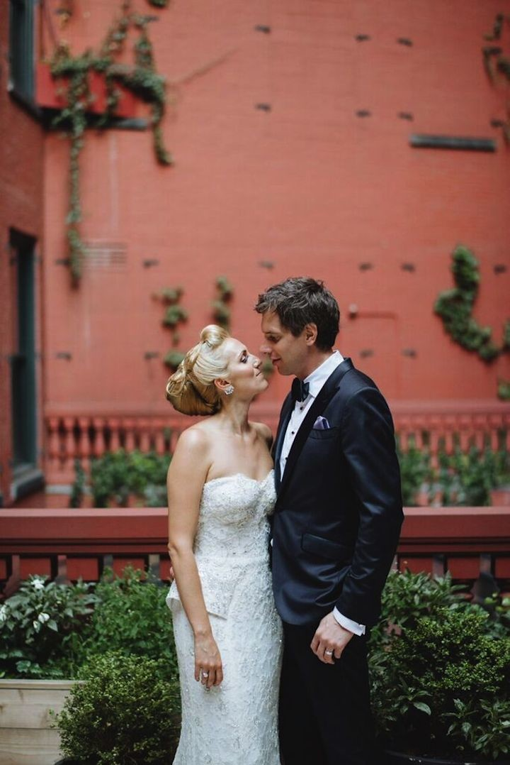 Secret Garden Inspired New York Wedding Modwedding