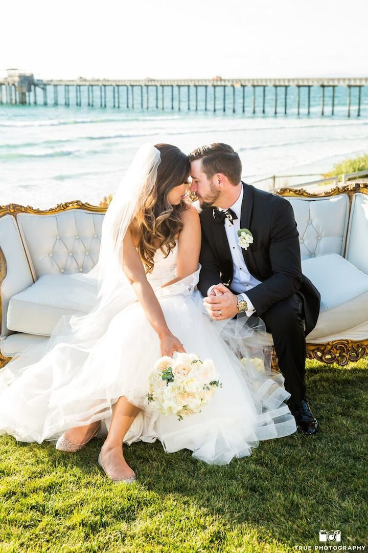 Lavish San Diego Wedding By The Beach Modwedding