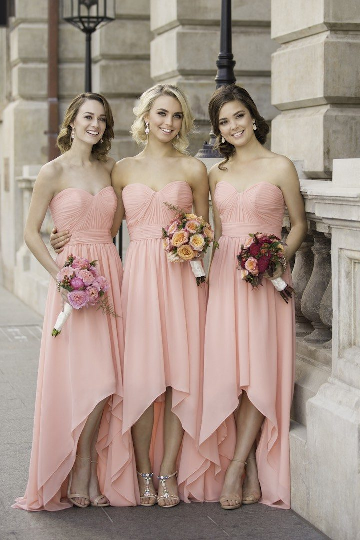 Trendsetting Sorella Vita Bridesmaid Dresses for the Girls - MODwedding