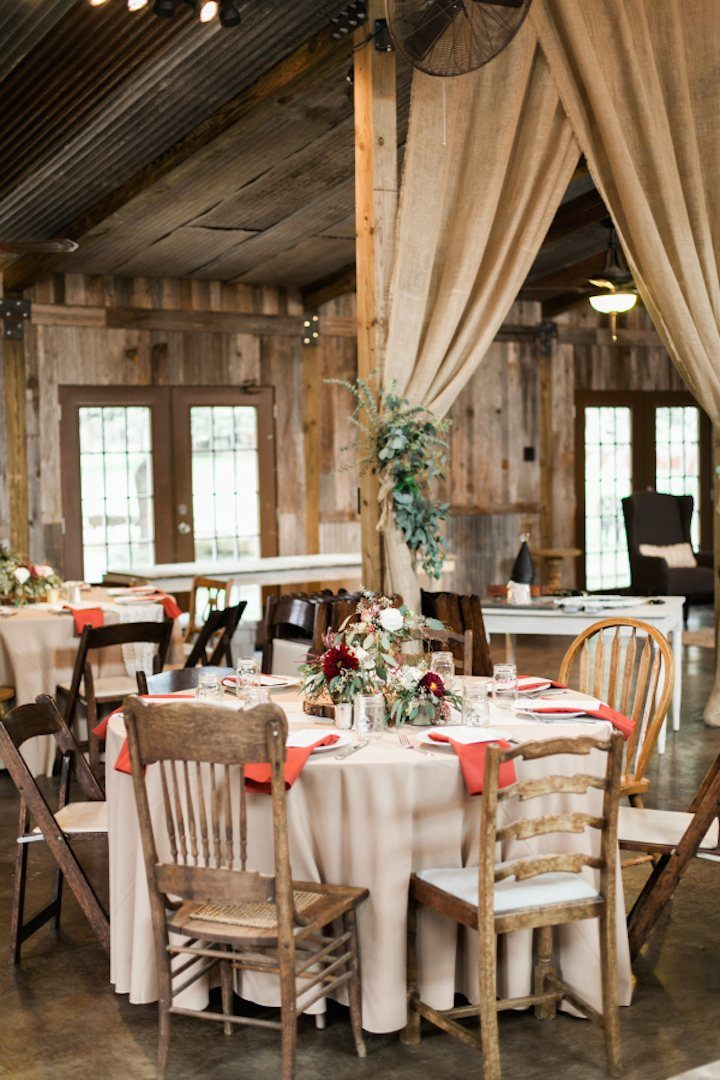 Elegant Texas Wedding with Beautiful Rustic Decor - MODwedding