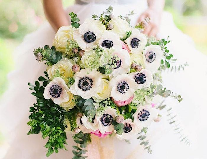 Gorgeous Anemone Bouquet Ideas