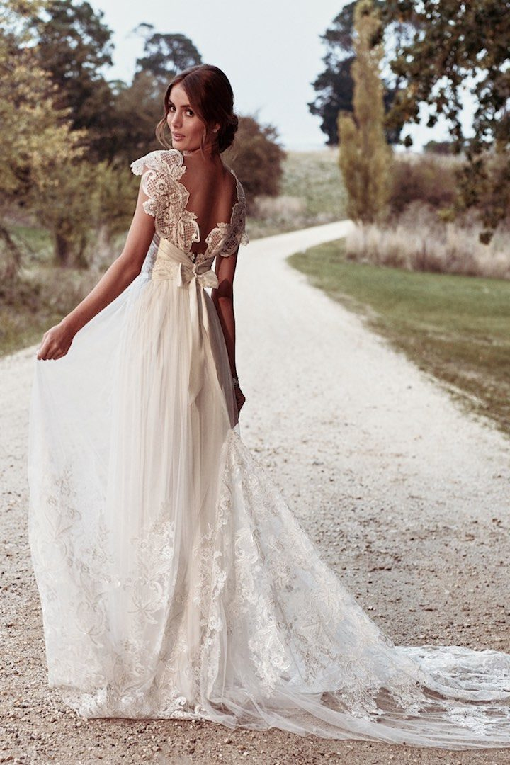 Ethereal Anna Campbell Eternal Heart Collection - MODwedding