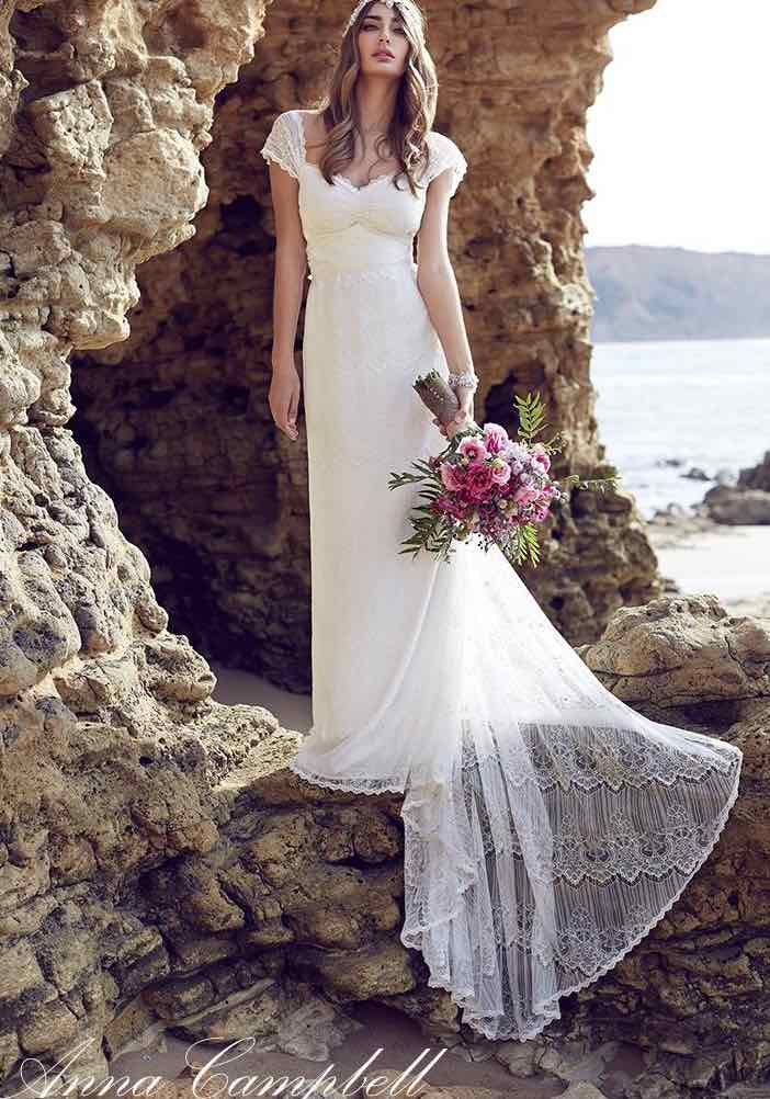 Anna campbell wedding dresses modwedding for Where to buy anna campbell wedding dresses