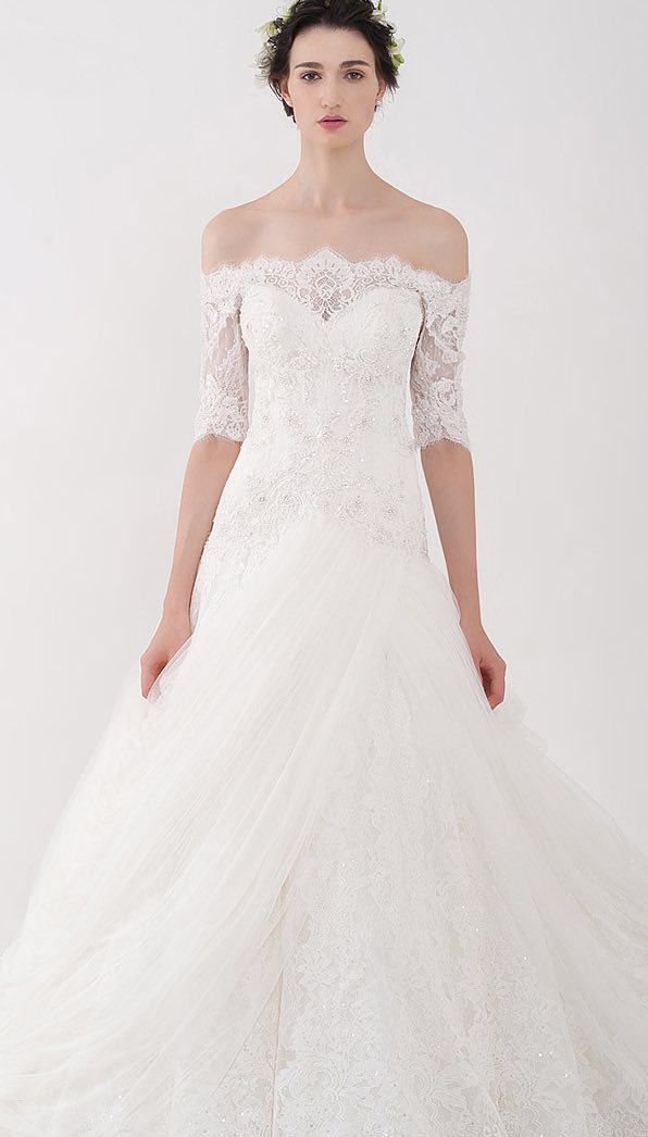 Modern Wedding Dresses With Classic Charm