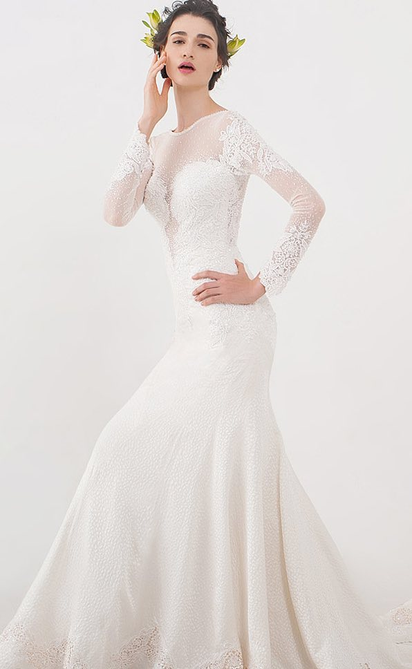 modern wedding dresses with classic charm modwedding With mod wedding dresses