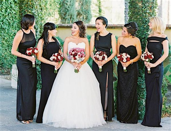 Very Berry Romantic Arizona Wedding