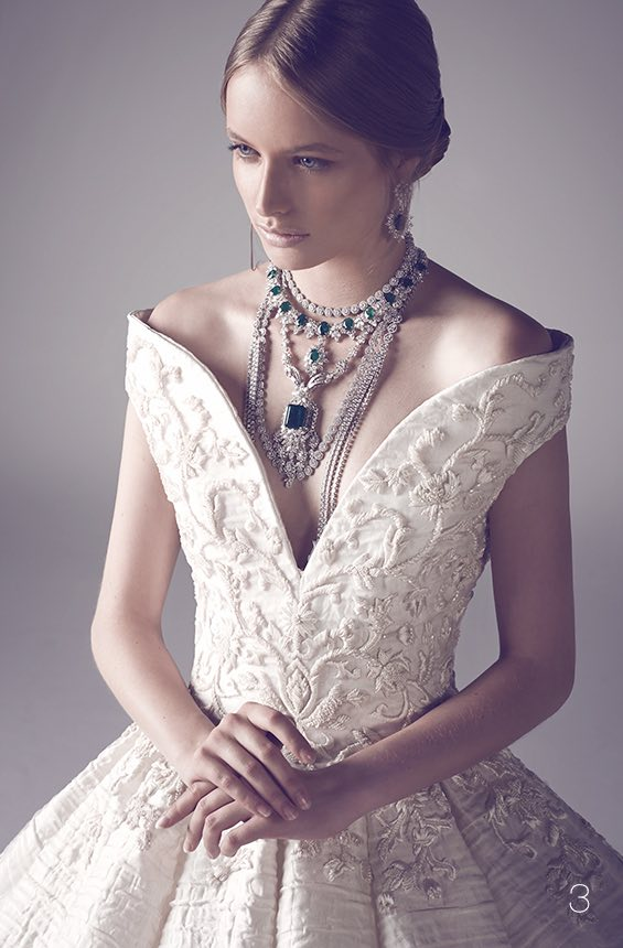 Wedding dresses for the bridal runway trend modwedding for American haute couture designers