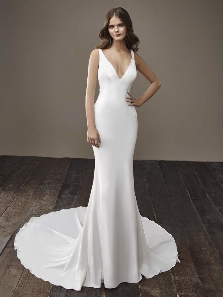 Glamorously modern badgley mischka wedding dresses bride for Wedding dress badgley mischka