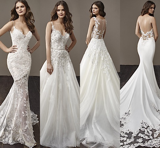 Badgley Mischka Wedding Gown: Glamorously Modern Badgley Mischka Wedding Dresses Bride