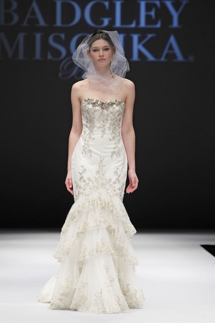 badgley mischka wedding dresses modwedding
