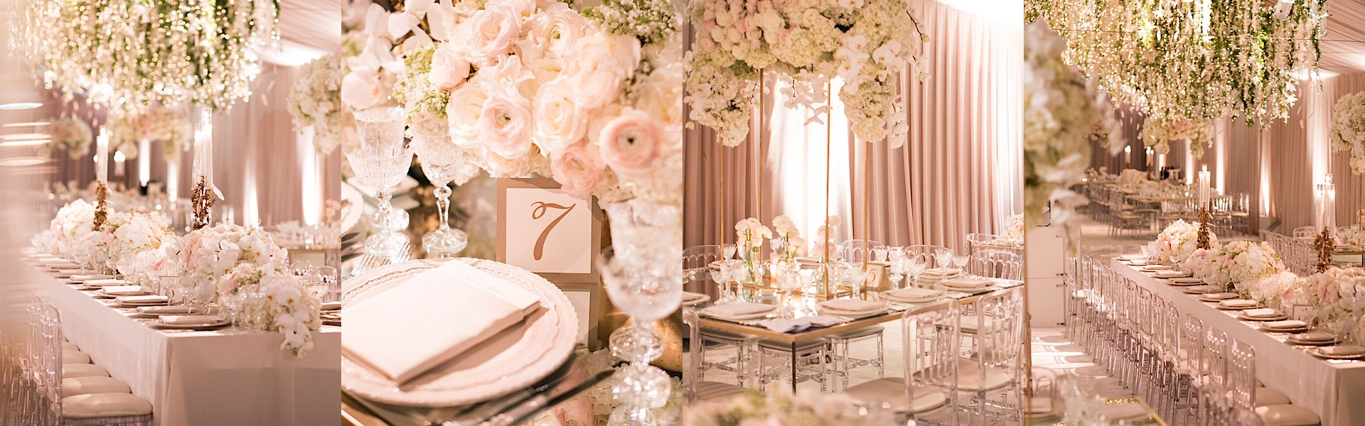 Glamorous White And Gold Beverly Hills Wedding At The Bel Air Hotel