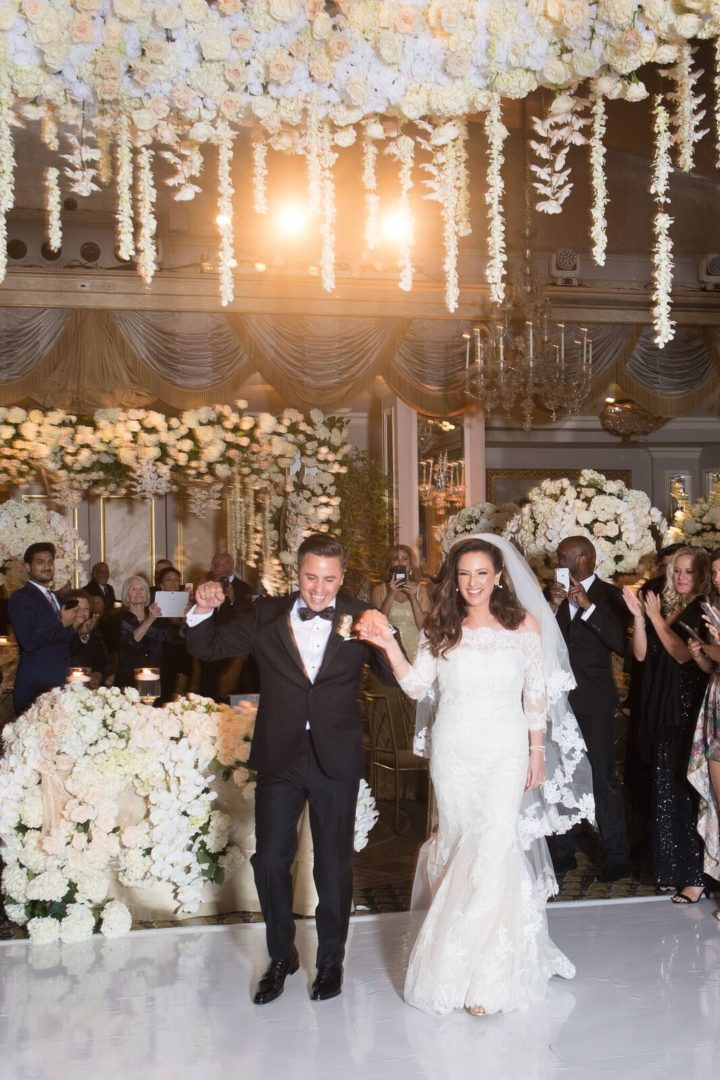 Glamorous Ballroom New York Wedding At The Pierre Hotel Modwedding