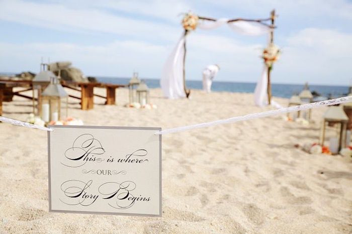 Beach Wedding Ceremony: Stunning Beach Wedding Ceremony Ideas