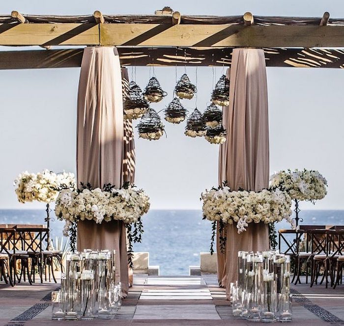 Beach Wedding Decorations Ideas: Stunning Beach Wedding Ceremony Ideas
