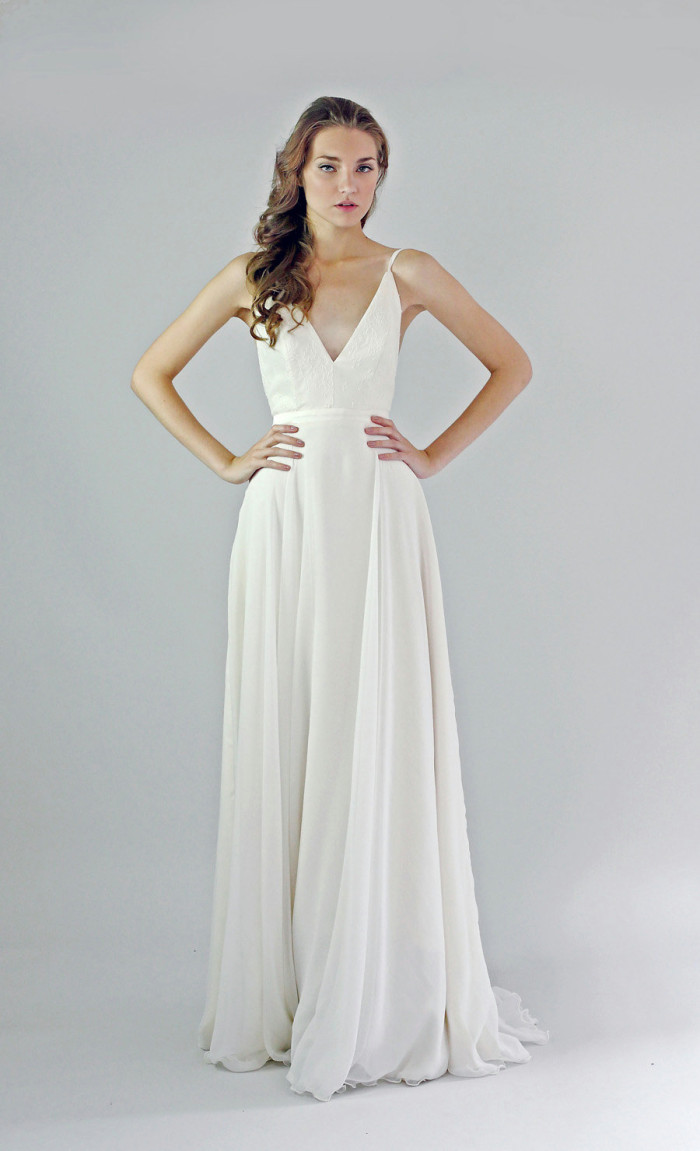 Beach wedding dresses made to perfection modwedding for Wedding dresses for bridesmaid