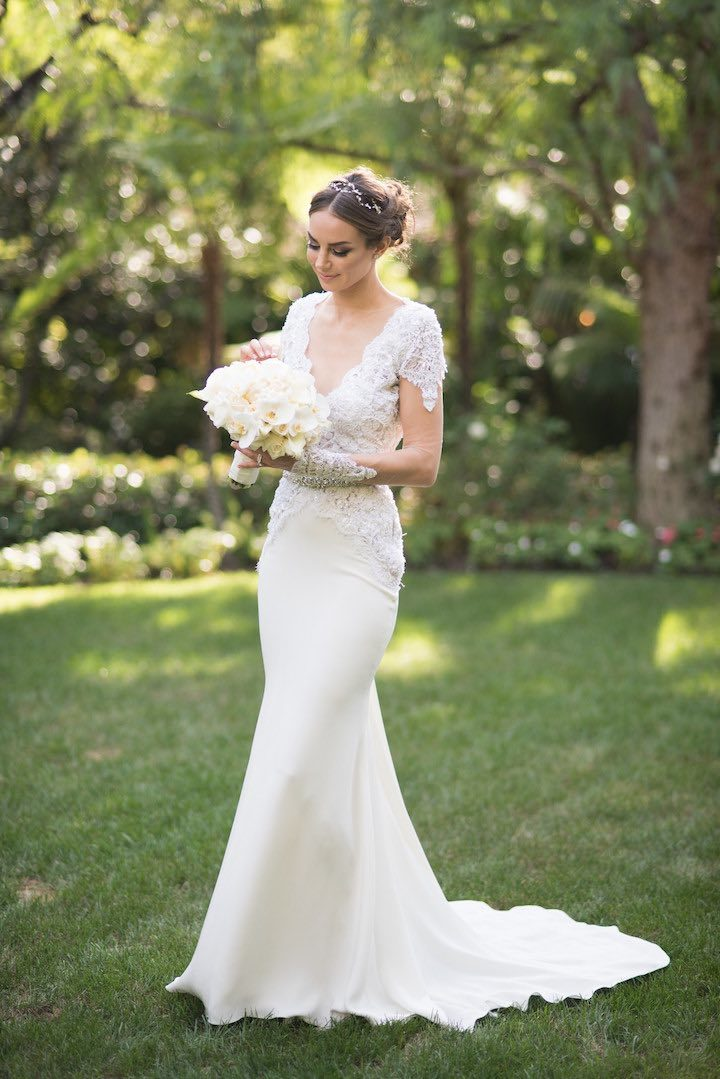 We 39 re falling in love with this beverly hills wedding for Beverly hills wedding dresses