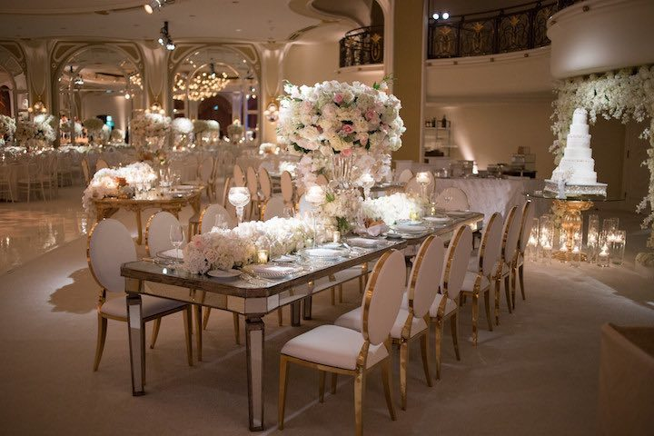 Photographer John And Joseph Photography Venue The Beverly Hills Hotel Planner Maryam Forutan Of Delicate Details Dress Designer Berta Hair