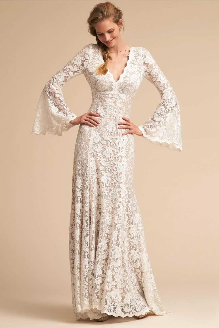 Bhldn 2018 spring wedding dresses you don 39 t want to miss for Dresses that can be used as a wedding dress