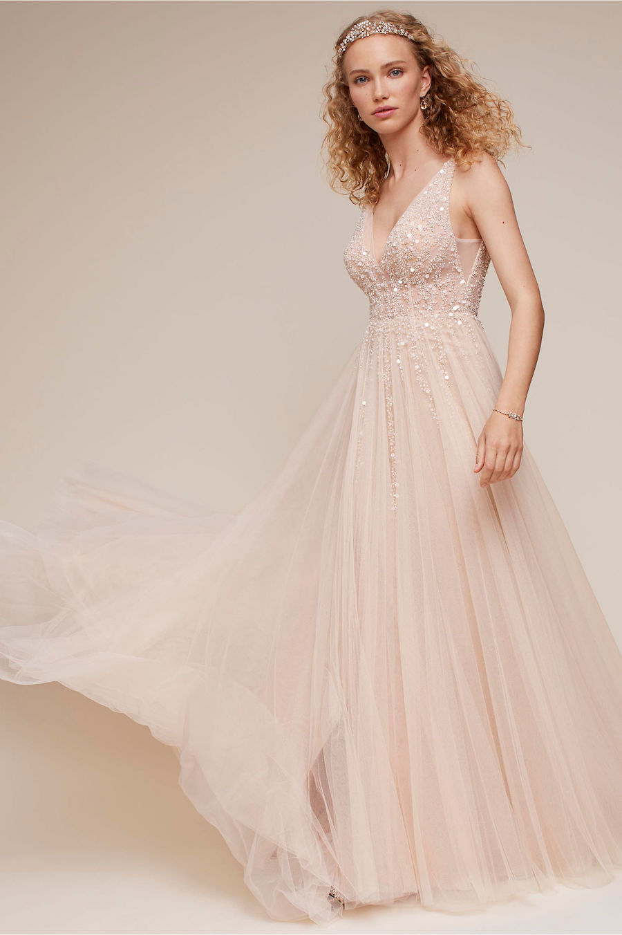 Modern Bohemian Chic BHLDN Wedding Dresses the label Collection
